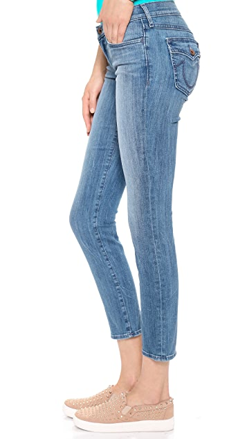 True Religion Victoria Cigarette Ankle Jeans