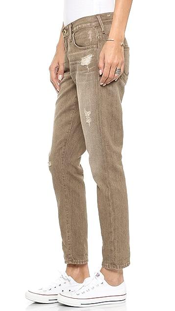 True Religion Audrey Boyfriend Rolled Jeans
