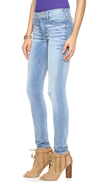 True Religion Halle Mid Rise Skinny Jeans
