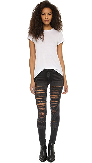 True Religion Halle Shredded Skinny Jeans