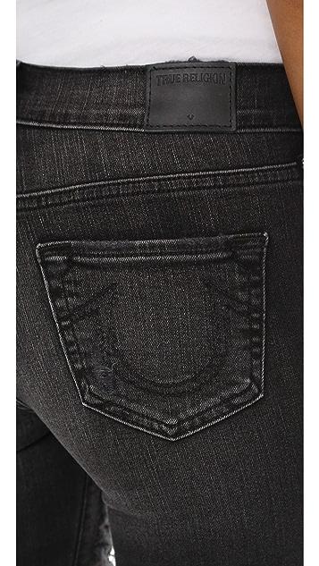 True Religion Halle Shredded Skinny Jeans