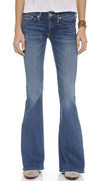 True Religion Karlie Bell Bottom Jeans
