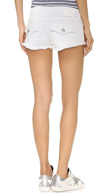 True Religion Joey Cutoff Shorts