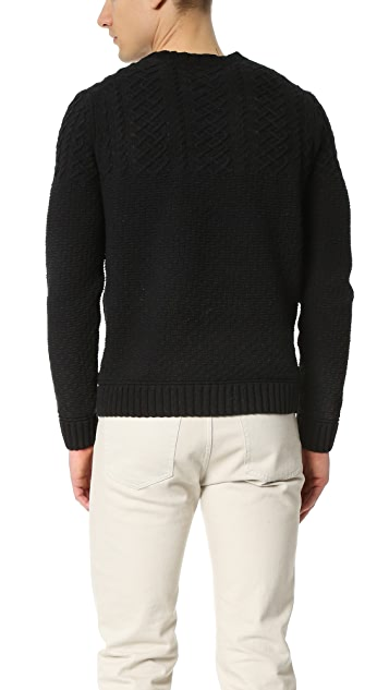 Todd Snyder Shore Cable Crew Sweater
