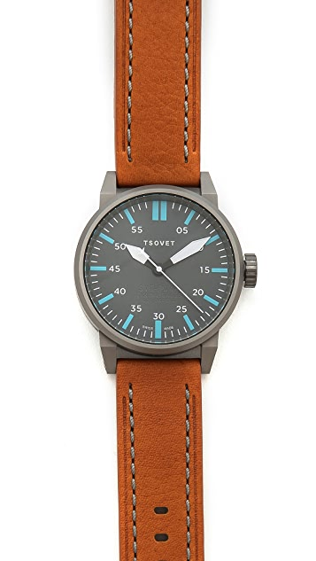 Tsovet Gunmetal & Grey 44MM Watch