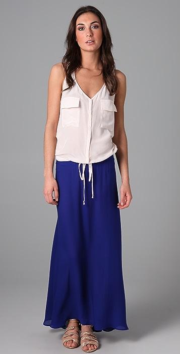 Tucker Long Flowy Skirt