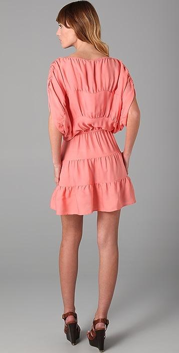 Tucker Panel Mini Dress