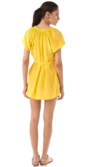 Tucker Mini Short Sleeve Dress