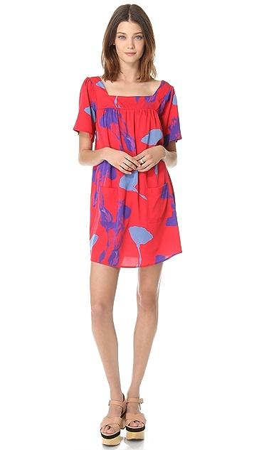 Tucker Squared Neck Dress