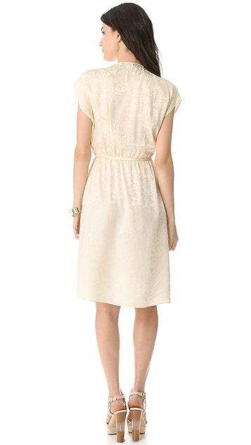 Tucker Wrap Dress
