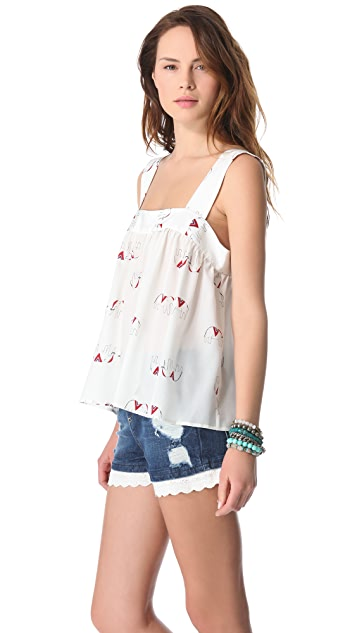 Tucker Yoke Tank Top