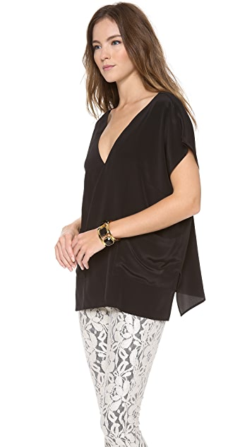 Tucker Poncho Top