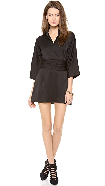 Tucker Kimono Belt Dress