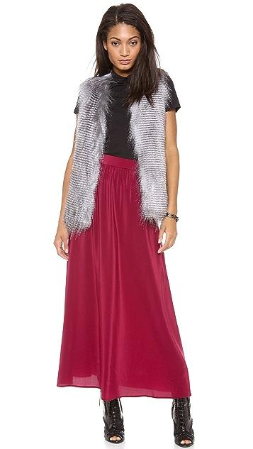 Tucker Maxi Circle Skirt