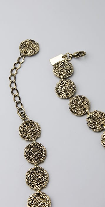Tuleste Antique Coin Tiered Necklace