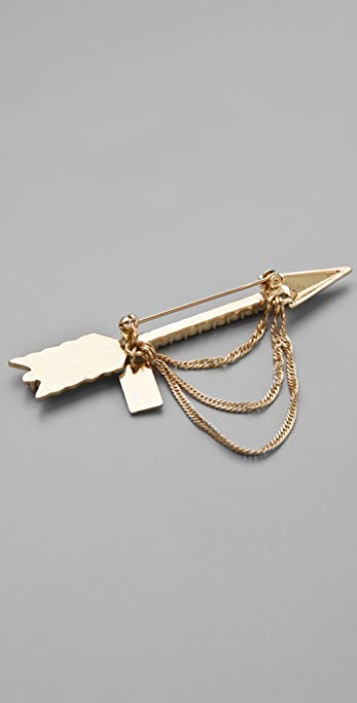 Tuleste Arrow Chain Pin