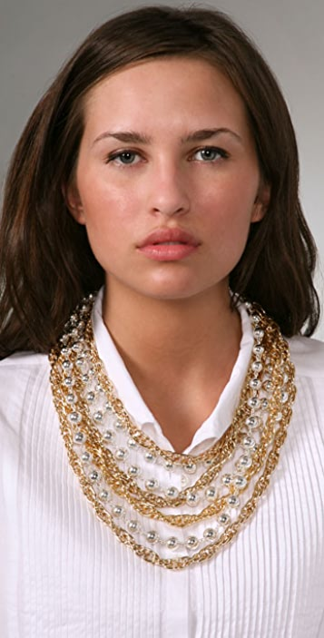 Tuleste Layered Ball & Chain Necklace