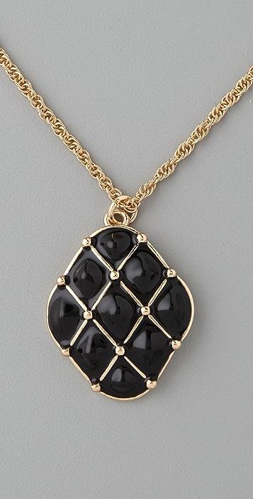 Tuleste Tufted Diamond Pendant Necklace