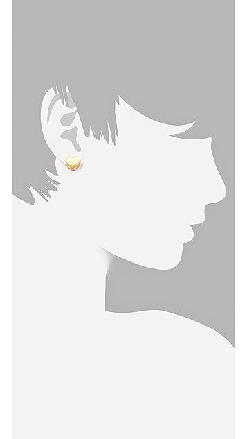 Tuleste Heart Stud Earrings