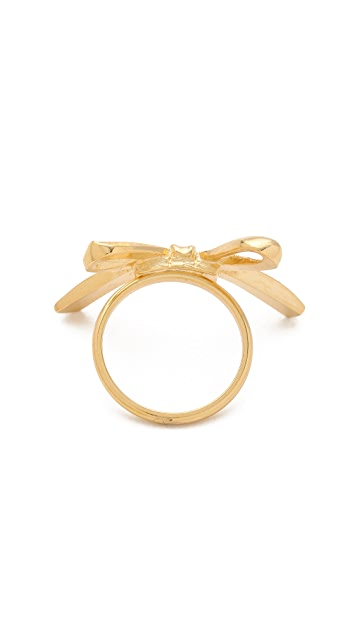 Tuleste Single Bow Ring