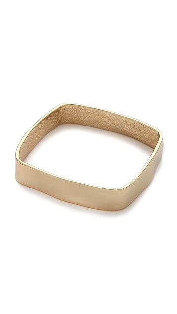 Tuleste Small Hammered Square Bracelet