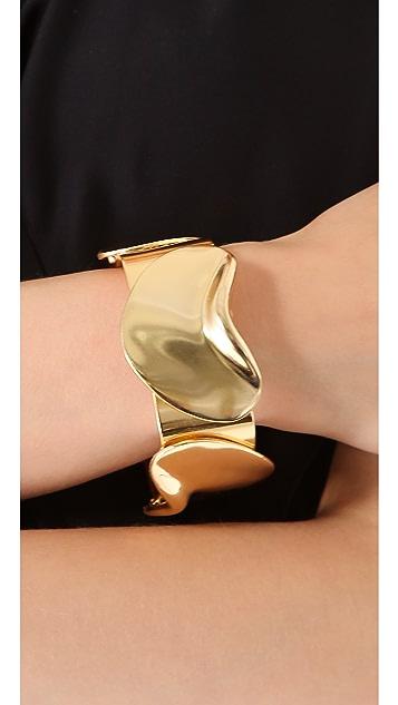 Tuleste Petal Bangle Bracelet