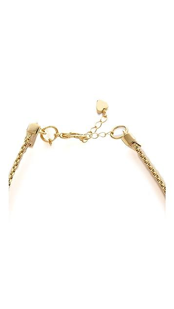 Tuleste Heart Choker Necklace