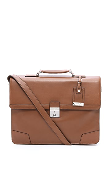 Tumi Dorilton Slim Flap Briefcase