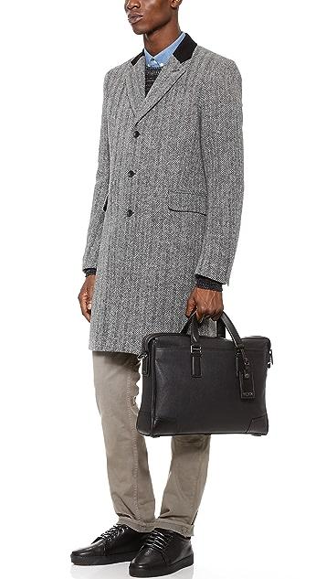 Tumi Irving Slim Leather Briefcase