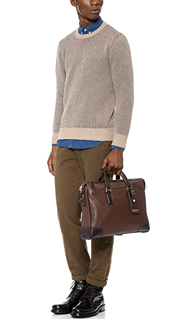 Tumi Irving Slim Leather Briefcase