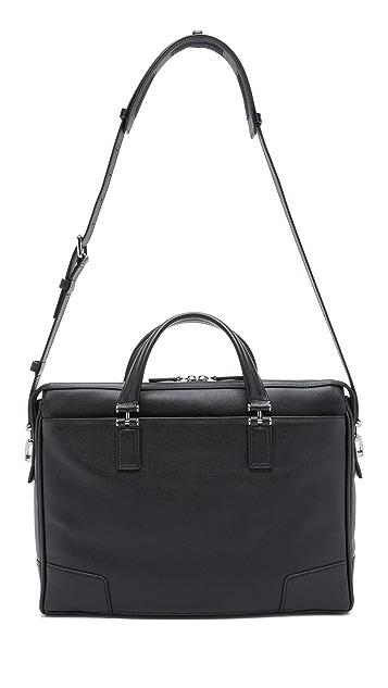 Tumi Astor Regis Slim Zip Top Briefcase