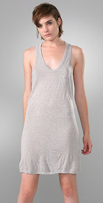 alexanderwang.t Classic Tank Dress with Mini Pocket