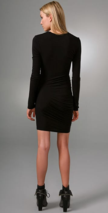 alexanderwang.t Stretch Long Sleeve Dress