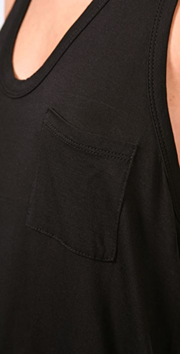 T by Alexander Wang Classic Mini Pocket Dress
