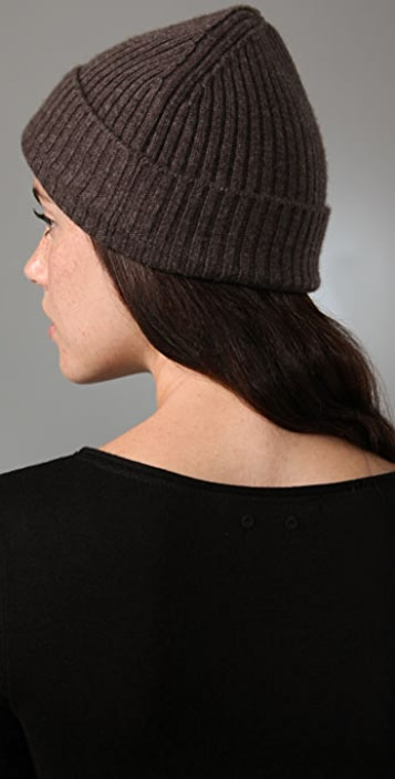 T by Alexander Wang Ribbed Knit Hat