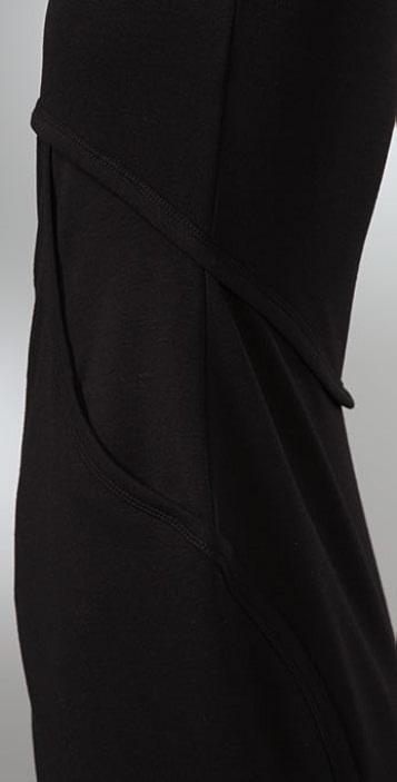 T by Alexander Wang Ponte Zip Dress