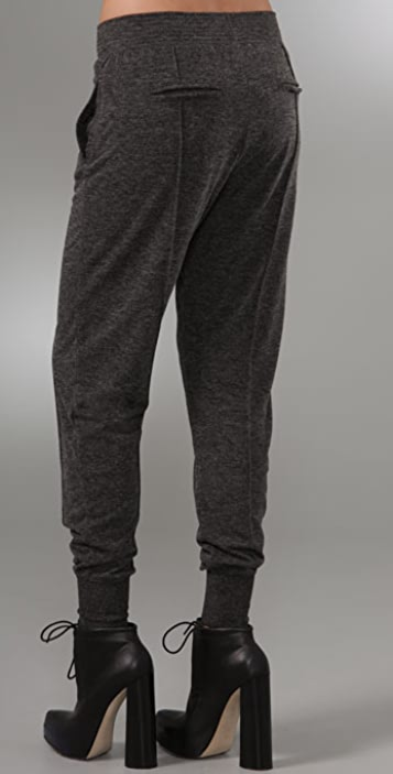 alexanderwang.t Knit Fitted Sweatpants