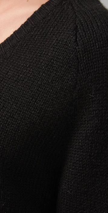 alexanderwang.t V Neck Grandpa Sweater