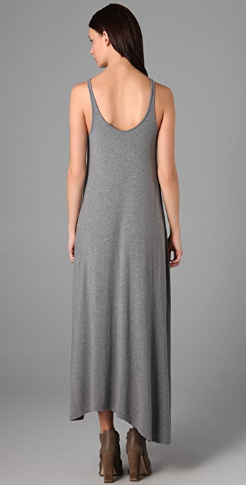 T by Alexander Wang Asymmetrical Long Dress