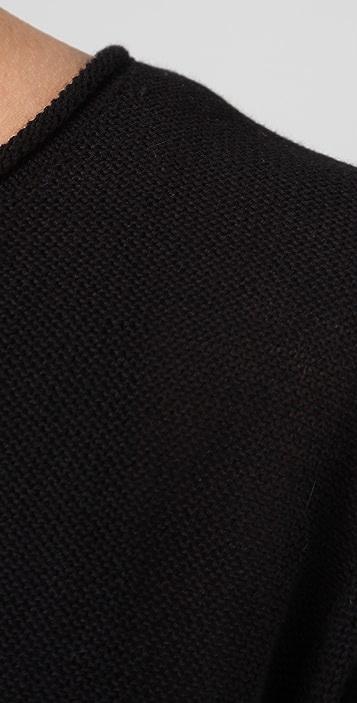 T by Alexander Wang High Twist Cotton Sweater