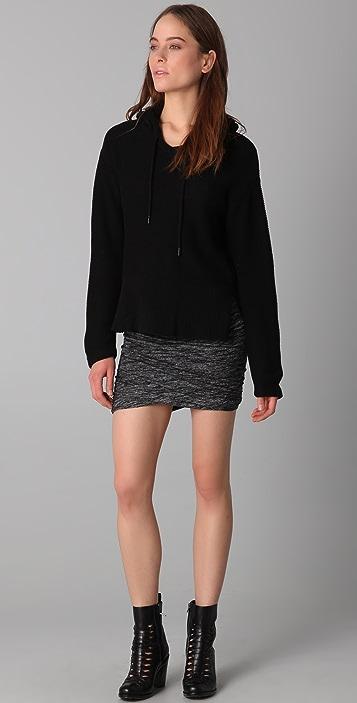 alexanderwang.t Marled Ruched Skirt