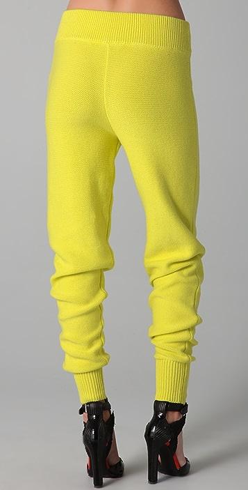alexanderwang.t Cotton Knit Sweatpants