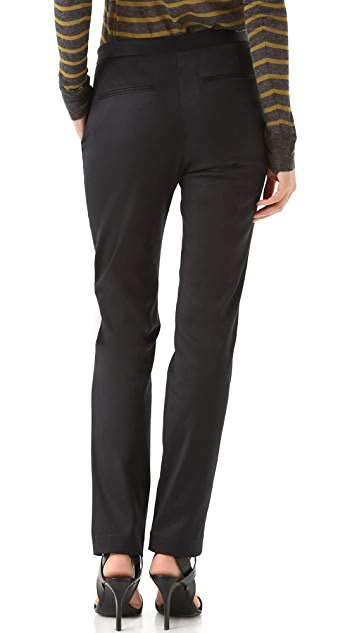 T by Alexander Wang Stretch Twill Trousers