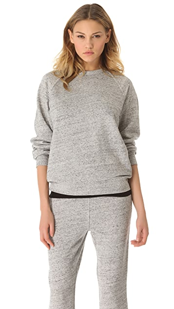 T by Alexander Wang Crew Neck Sweatshirt