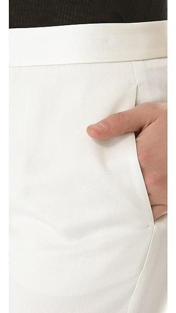 alexanderwang.t Shiny Crepe Peg Trousers