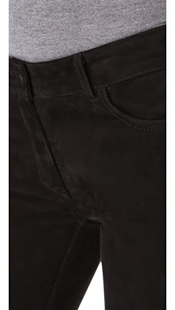 T by Alexander Wang Stretch Suede Jeans