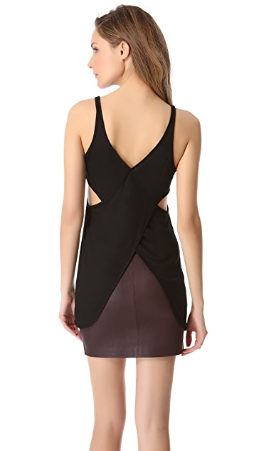 T by Alexander Wang Crisscross Back Tank