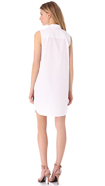 T by Alexander Wang Sleeveless Shirtdress