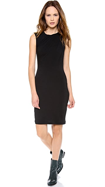 T by Alexander Wang Split Drape Dress