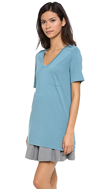 T by Alexander Wang Classic Tee with Pocket